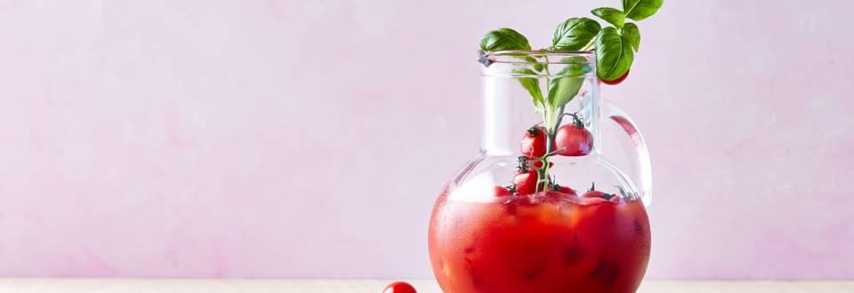 Jus de tomates au vermouth