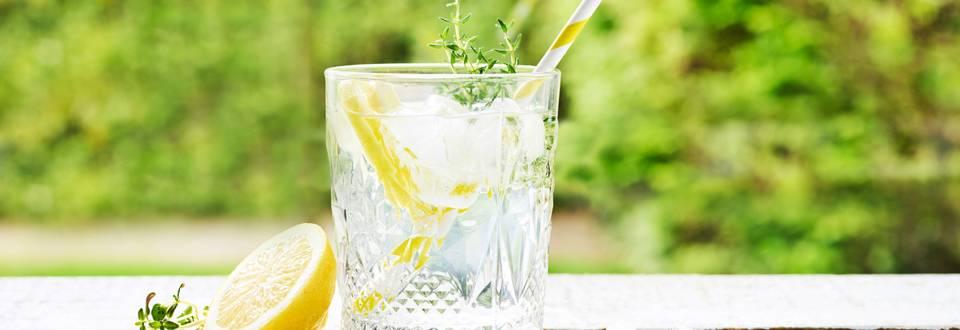 Gin-tonic au miel & citron vert