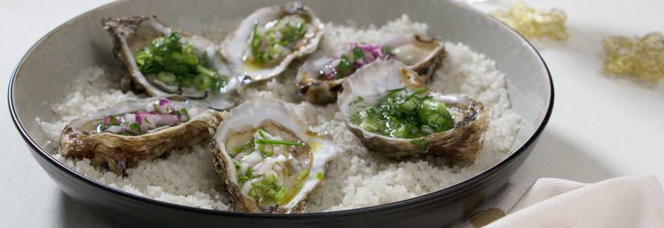 3 façons de servir les huîtres