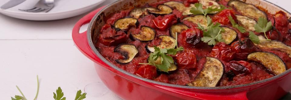 Plat de légumes grec