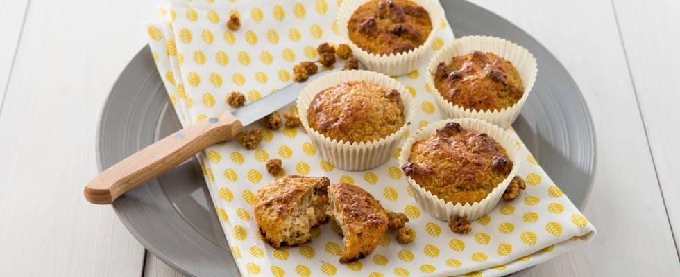 Muffin de petit-déjeuner aux mûres