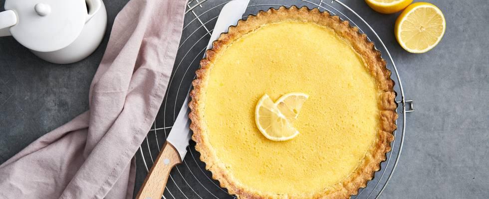 Tarte au citron à la française