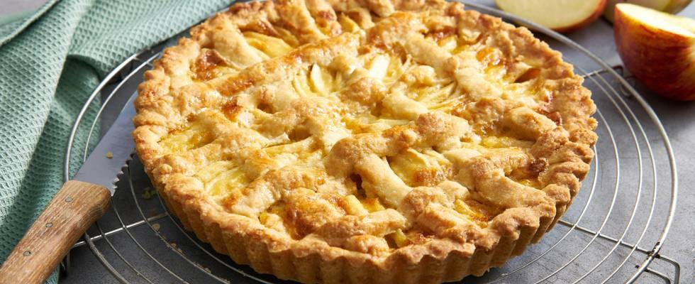 Tarte aux pommes & poires