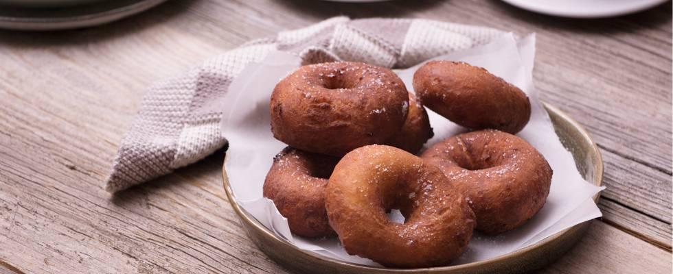 Donuts au sucre